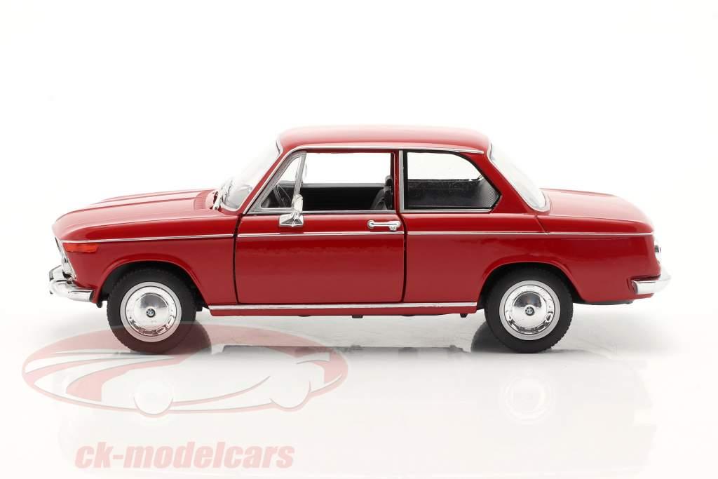 BMW 2002ti vermelho 1:24 Welly