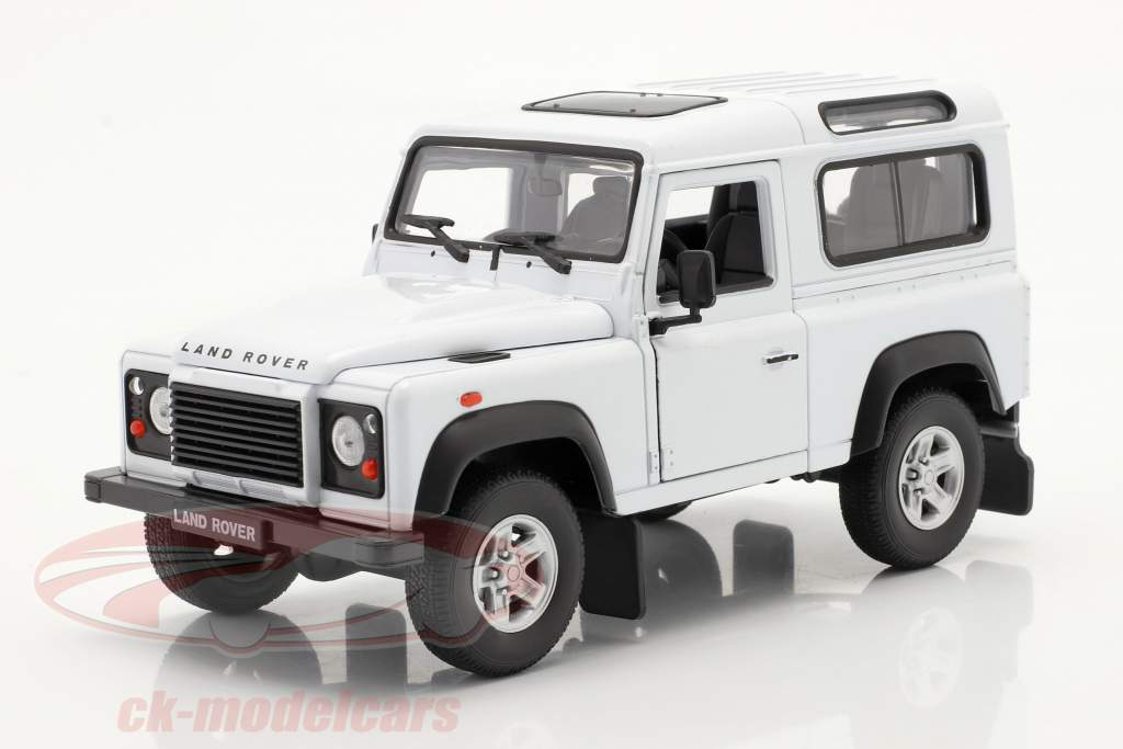 Land Rover Defender blanc 1:24 Welly