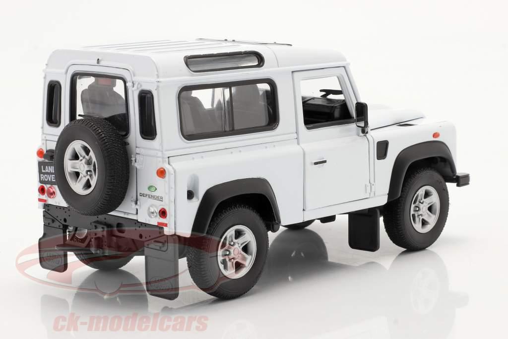 Land Rover Defender weiß 1:24 Welly