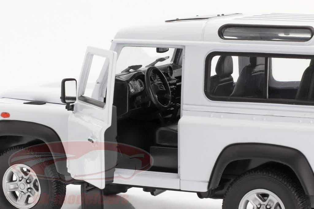 Land Rover Defender hvid 1:24 Welly