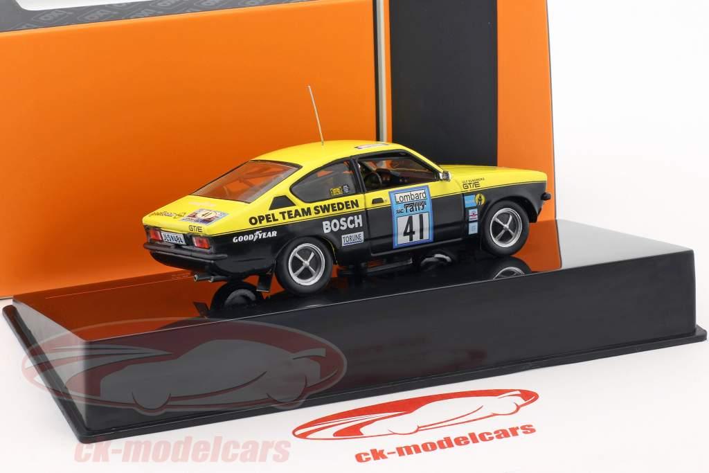 Opel Kadett GT/E Gr.1 #41 Lombard RAC rally 1976 Danielsson, Sundberg 1:43 Ixo / 2. scelta
