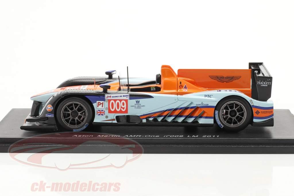 Aston Martin AMR-One #009 24h Le Mans 2011 Spark 1:43