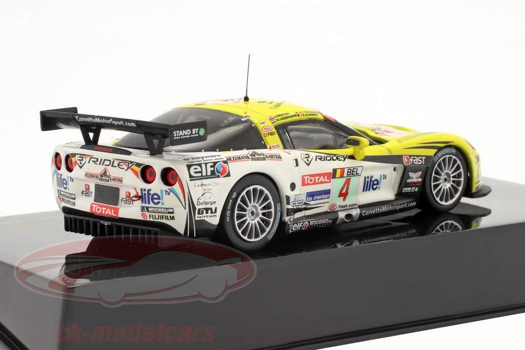Chevrolet Corvette Z06 º 4 Vencedor 24h Spa 2009 1:43 Ixo