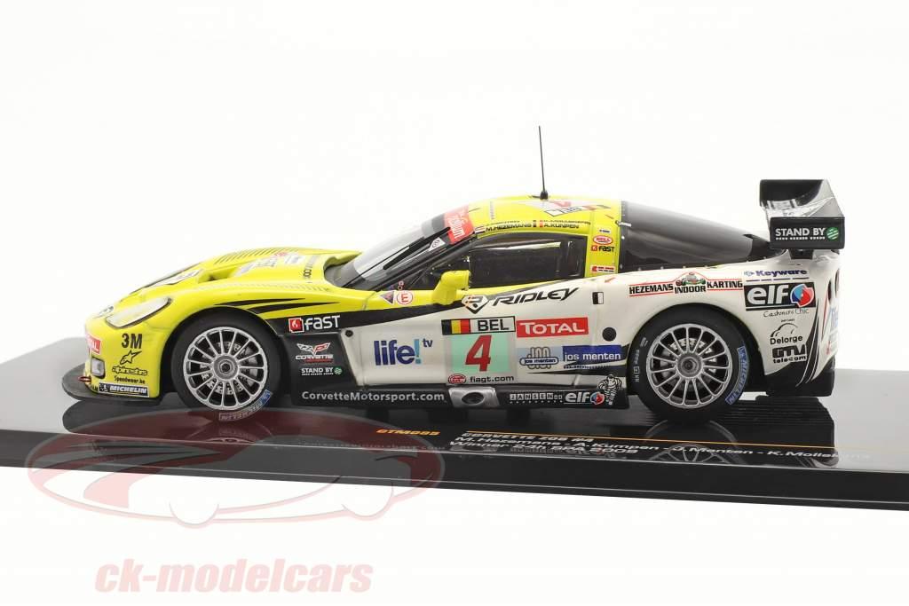 Chevrolet Corvette Z06 #4 Winner 24h Spa 2009 1:43 Ixo