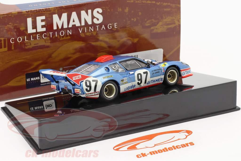 Maserati Ligier JS2 #97 Beltoise, Jarier 24h Le Mans 1975 1:43 Ixo