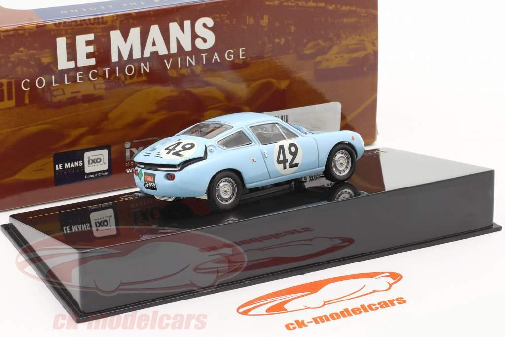 Abarth Simca 1300 #42 Le Mans 24 1962 Oreiller / Spychiger 1:43 Ixo