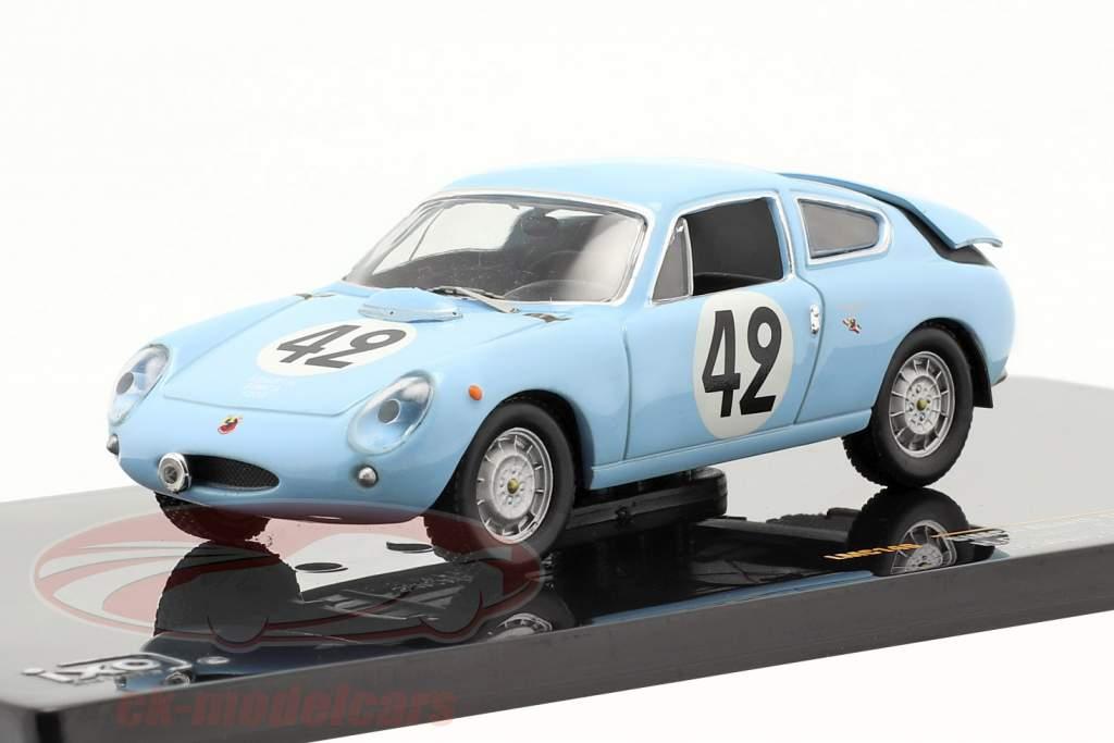 Abarth Simca 1300 #42 Le Mans 24h 1962 Oreiller / Spychiger 1:43 Ixo