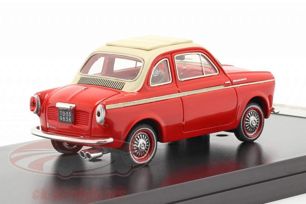 NSU-Fiat Weinsberg 500 Ano 1960 vermelho 1:43 Premium X