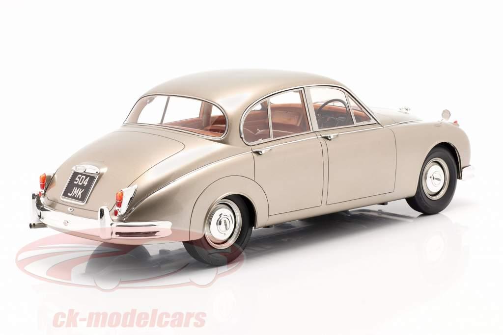 Jaguar MK II year 1959-1968 gold metallic 1:12 Matrix