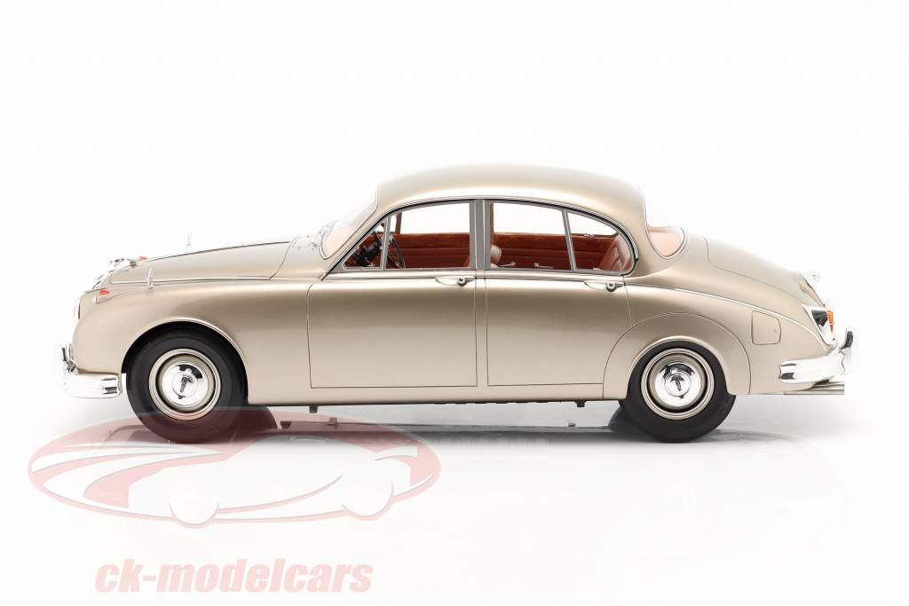 Jaguar MK II Année de construction 1959-1968 or métallique 1:12 Matrix