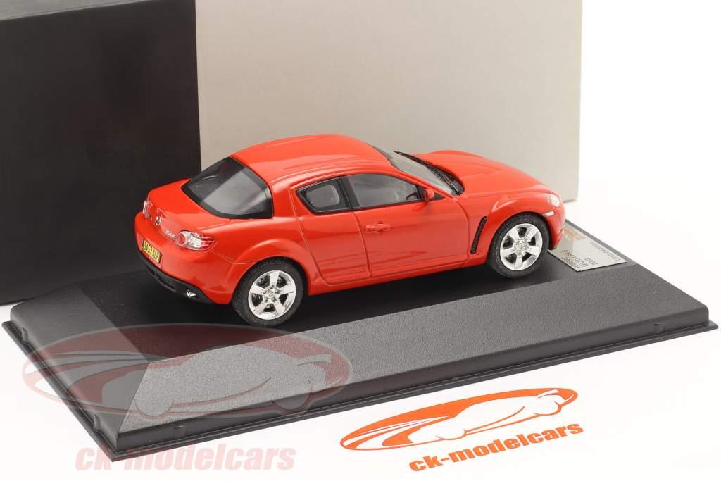 Mazda RX-8 Year 2003 red 1:43 Premium X