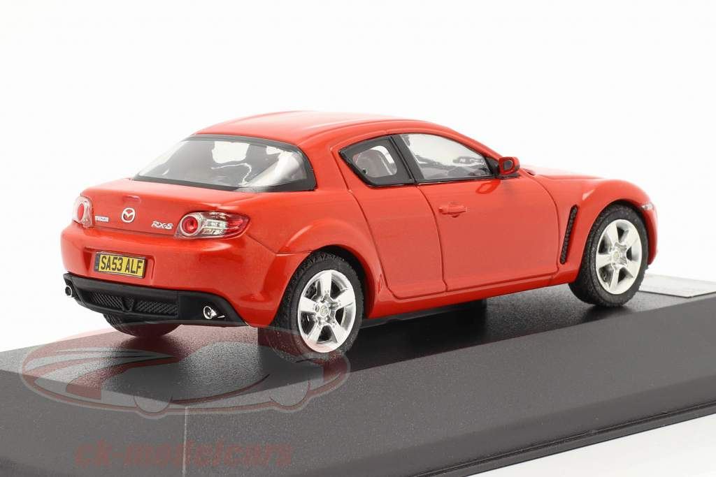Mazda RX-8 Baujahr 2003 rot 1:43 Premium X