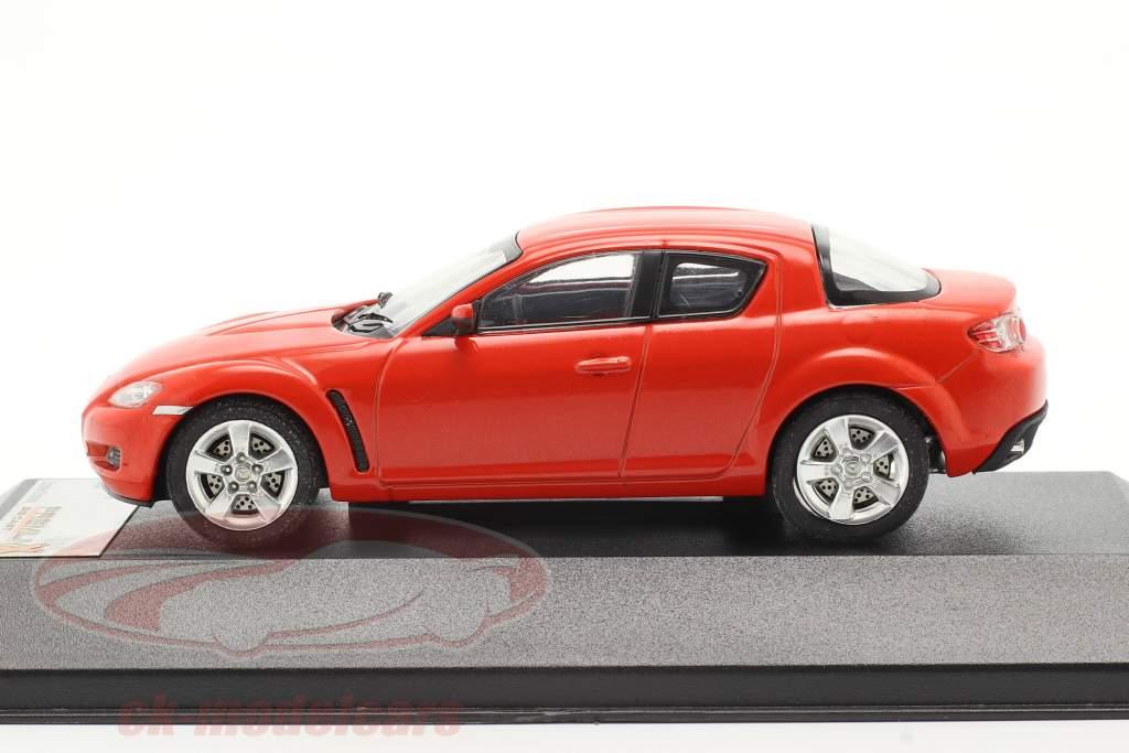 Mazda RX-8 År 2003 rød 1:43 Premium X