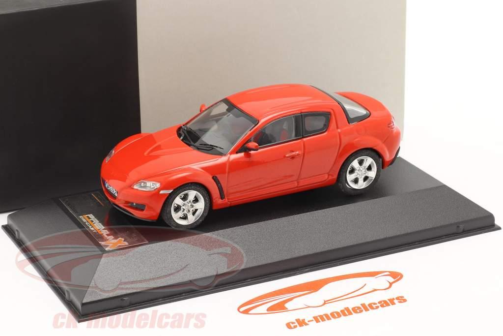 Mazda RX-8 år 2003 rød 1:43 Premium X / 2. valg