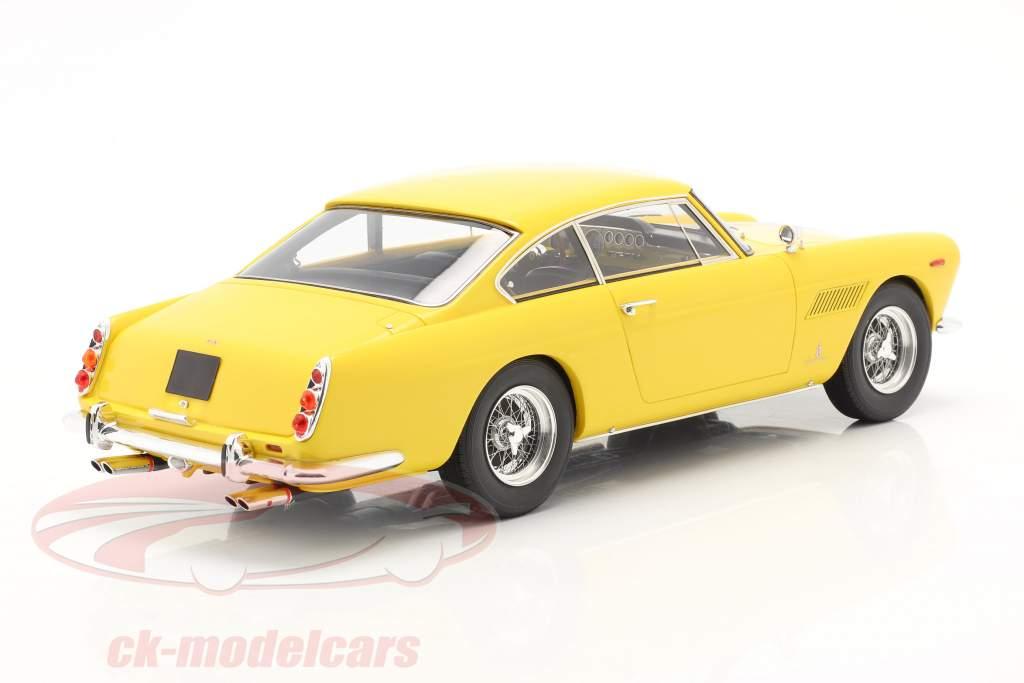 Ferrari 250 GTE 2+2 cupé Baujahr 1960 gelb 1:18 matriz