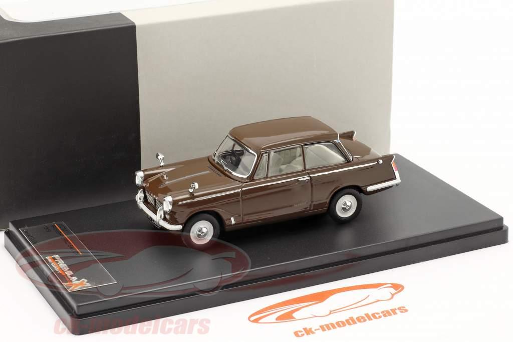 Triumph Herald Saloon Year 1959 brown 1:43 Premium X