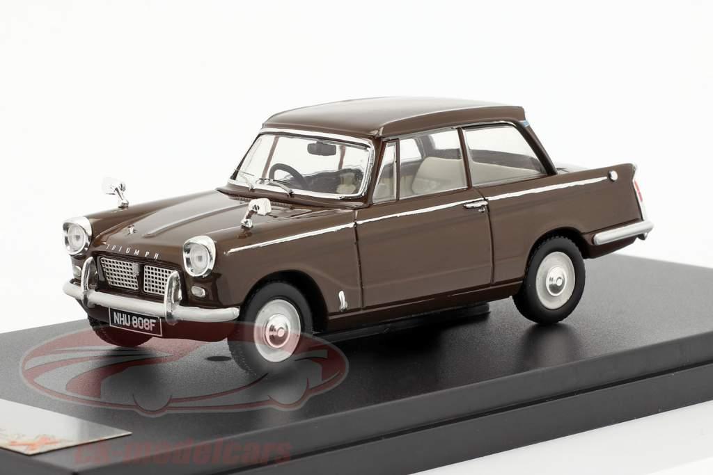 Triumph Herald Saloon Año 1959 marrón 1:43 Premium X