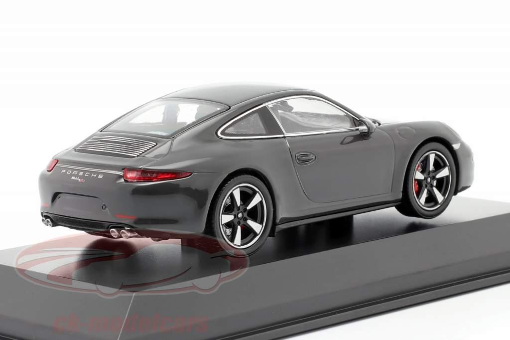 Porsche 911 (991) gray 50 Years Porsche 911 Edition 1:43 Welly