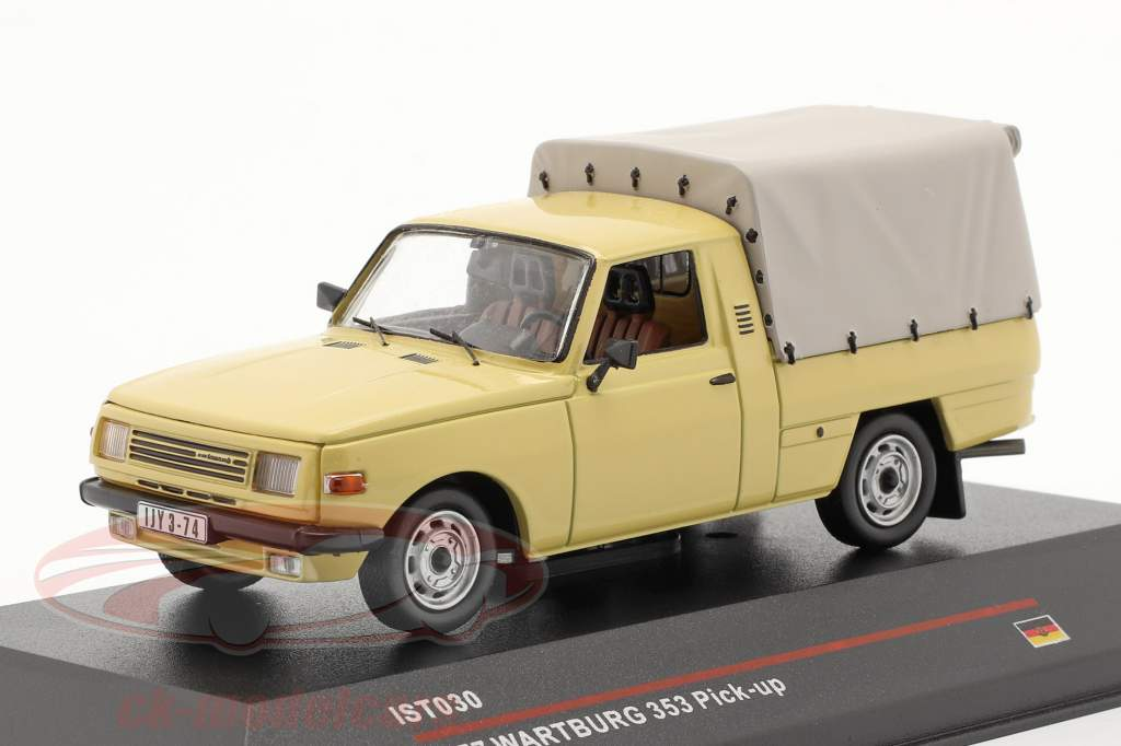 Wartburg 353 Pick-up ano 1977 areia colori 1:43 IST-Models