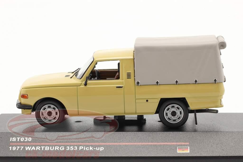 Wartburg 353 Pick-up anno 1977 sabbia colorato 1:43 IST-Models