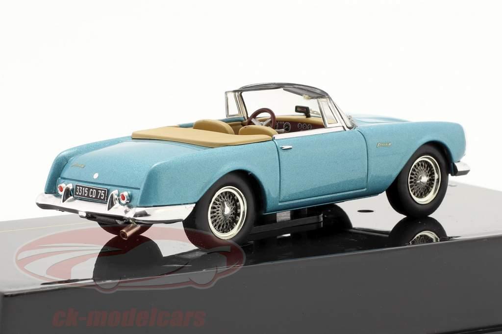 Facel Fega Facel 6 año 1964 ligero azul metálico 1:43 Ixo