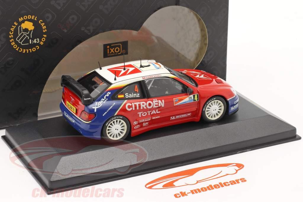 Citroen Xsara WRC #4 Sieger Rallye Argentinien 2004 1:43 Ixo