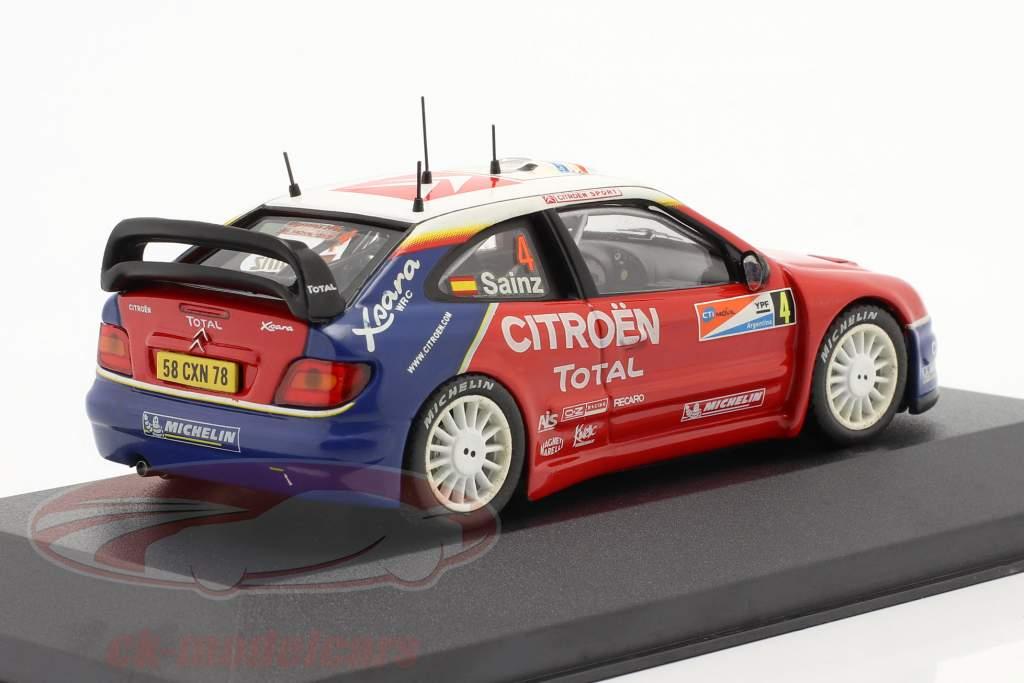 Citroen Xsara WRC #4 vinder samle Argentina 2004 1:43 Ixo
