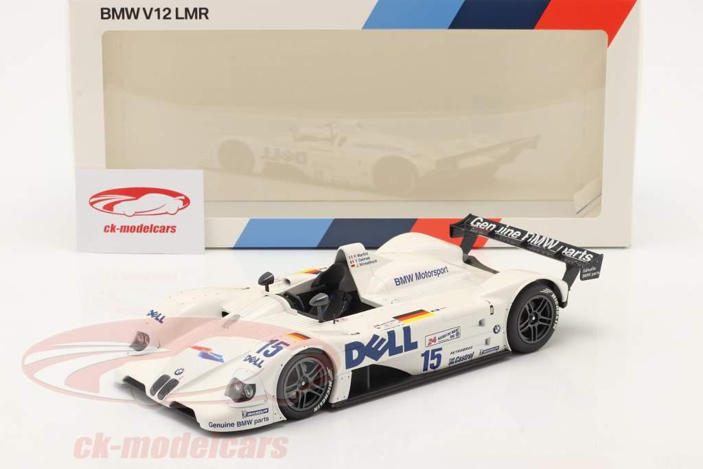 BMW V12 LMR #15 vincitore 24h LeMans 1999 BMW Motorsport 1:18 Minichamps