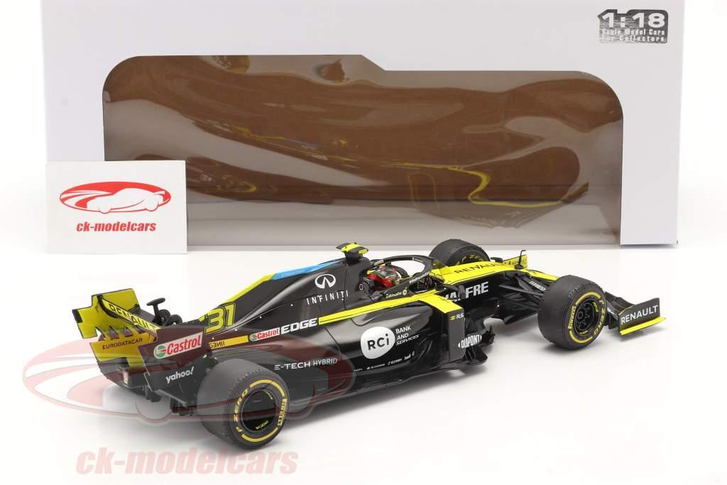 Esteban Ocon Renault R.S.20 #31 イギリス GP 式 1 2020 1:18 Solido