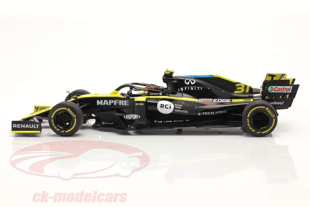 Esteban Ocon Renault R.S.20 #31 Grande Bretagne GP formule 1 2020 1:18 Solido