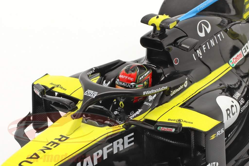 Esteban Ocon Renault R.S.20 #31 Gran Bretaña GP fórmula 1 2020 1:18 Solido