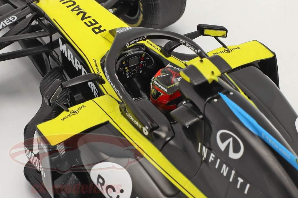 Esteban Ocon Renault R.S.20 #31 Groot Brittanië GP formule 1 2020 1:18 Solido