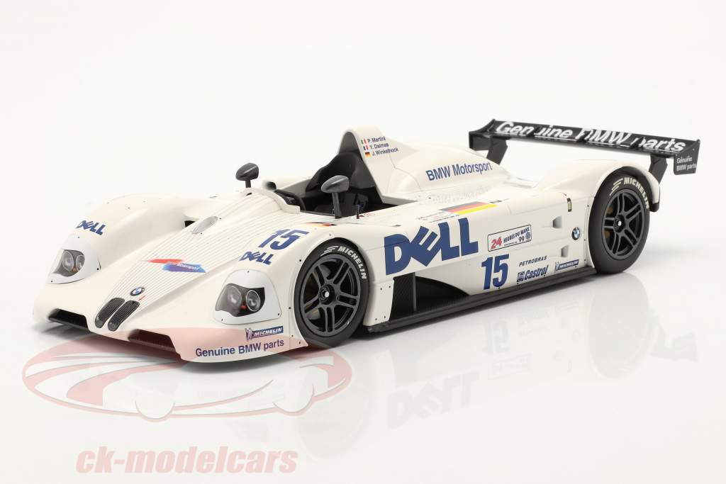 BMW V12 LMR #15 winner 24h LeMans 1999 BMW Motorsport 1:18 Minichamps