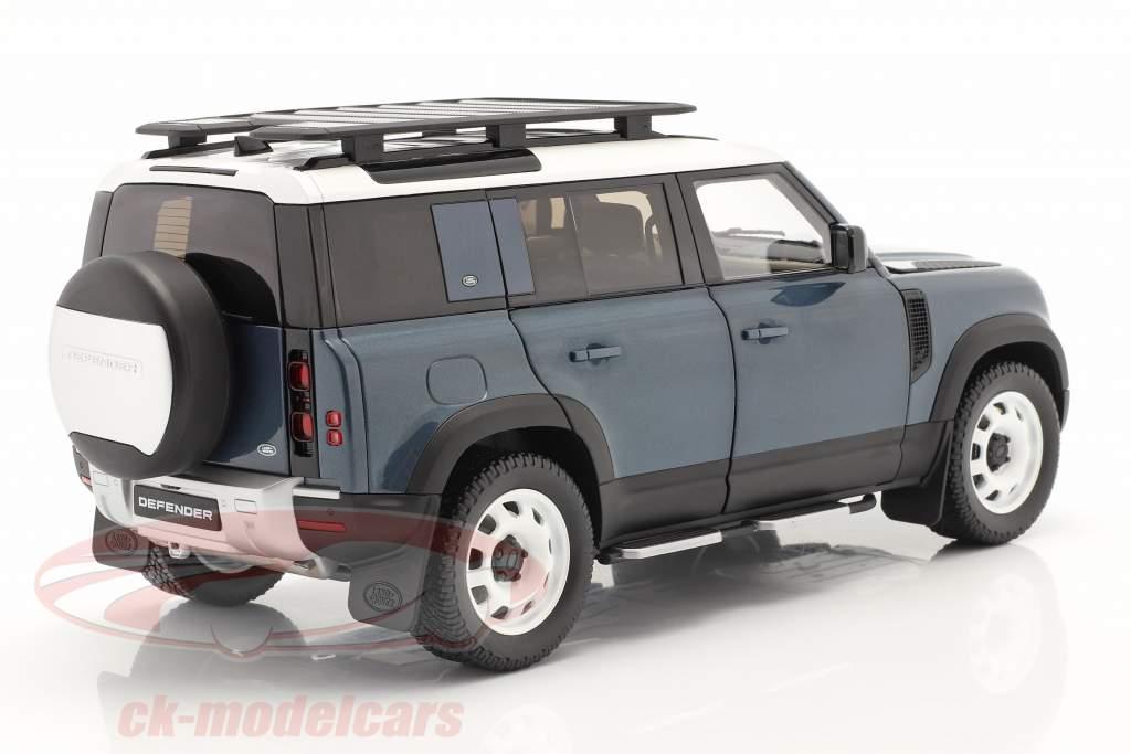 Land Rover Defender 110 Con portapacchi 2020 tasman blu 1:18 Almost Real