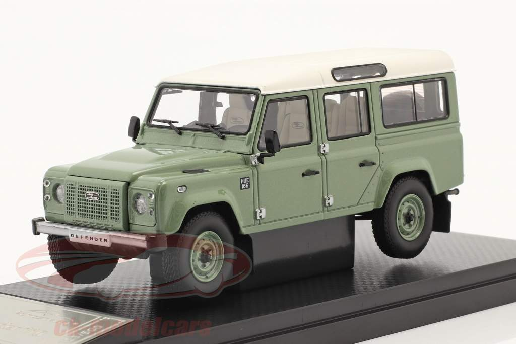 Land Rover Defender 110 Heritage Edition 2015 green 1:43 Almost Real