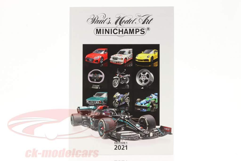 Minichamps Catálogo Edição 1 2021