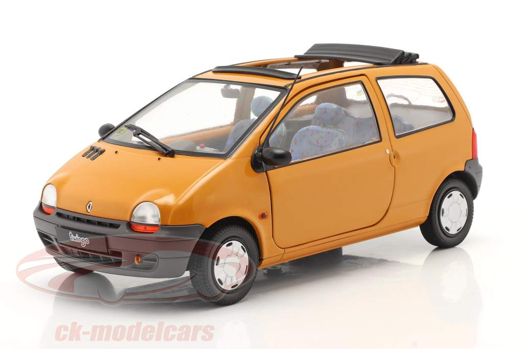 Renault Twingo MK1 Med Softtop orange 1:18 Solido