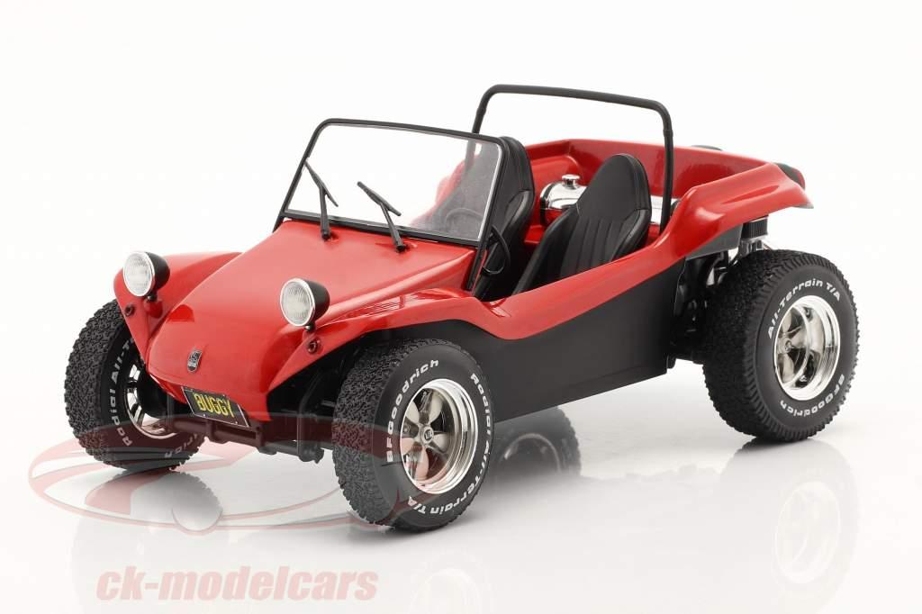 Meyers Manx Buggy Año de construcción 1968 rojo 1:18 Solido