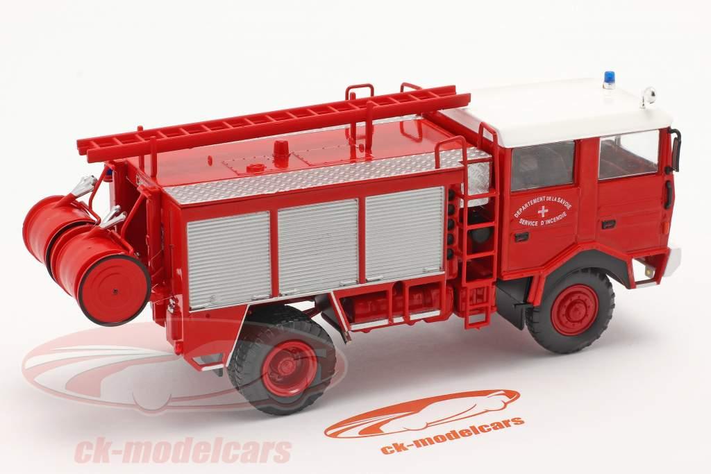 Berliet GBD 4x4 cuerpo de Bomberos Savoie rojo 1:43 Altaya
