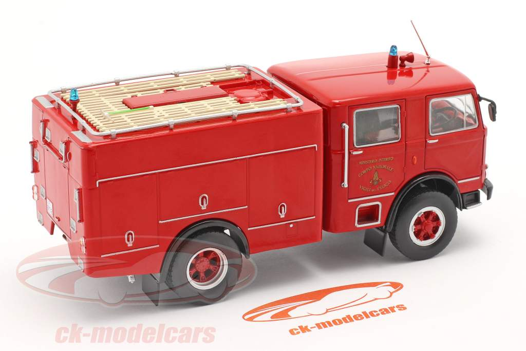 OM Leoncino 150 fire department red 1:43 Altaya