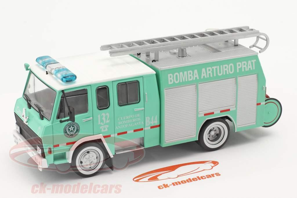 Berliet 770 KB 6 Brandvæsen Antofagasta grøn / hvid 1:43 Altaya