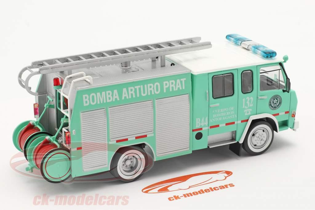 Berliet 770 KB 6 Feuerwehr Antofagasta grün / weiß 1:43 Altaya