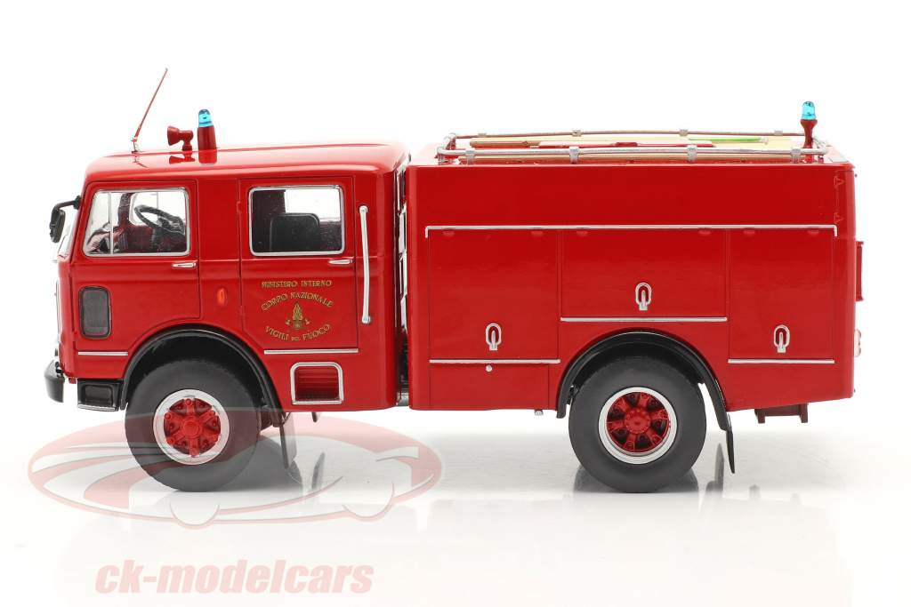 OM Leoncino 150 Brandvæsen rød 1:43 Altaya