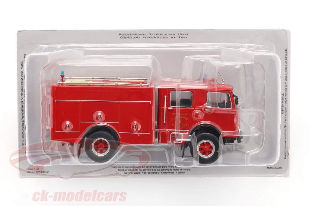 OM Leoncino 150 pompiers rouge 1:43 Altaya
