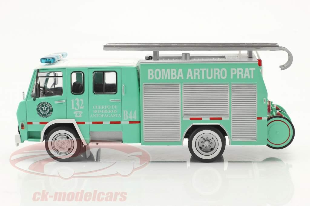 Berliet 770 KB 6 vigili del fuoco Antofagasta verde / bianca 1:43 Altaya