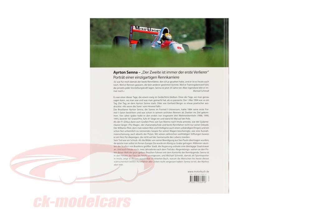 Boek: Ayrton Senna - De tweede is altijd de eerste losser