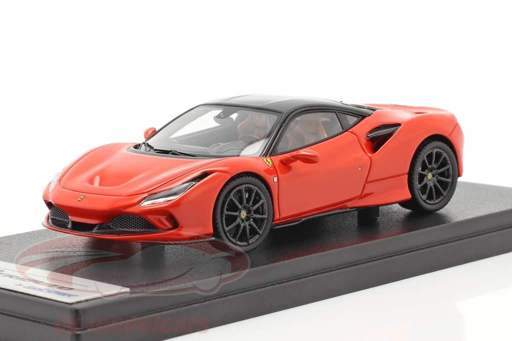 Ferrari F8 Tributo Bouwjaar 2019 dino rood / zwart 1:43 LookSmart