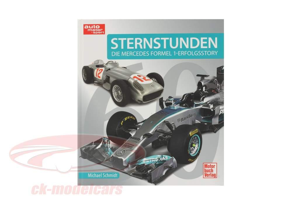 Boek: Uren van heerlijkheid. De Mercedes formule 1 verhaal van succes