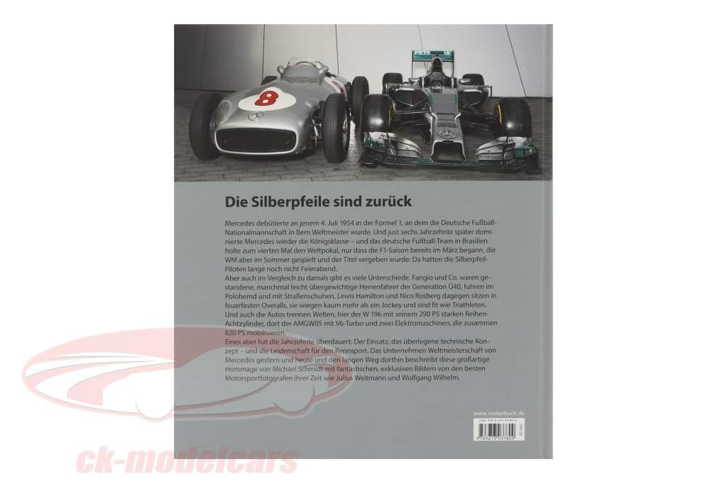 Livre: Les heures de gloire. Le Mercedes formule 1 histoire de Succès