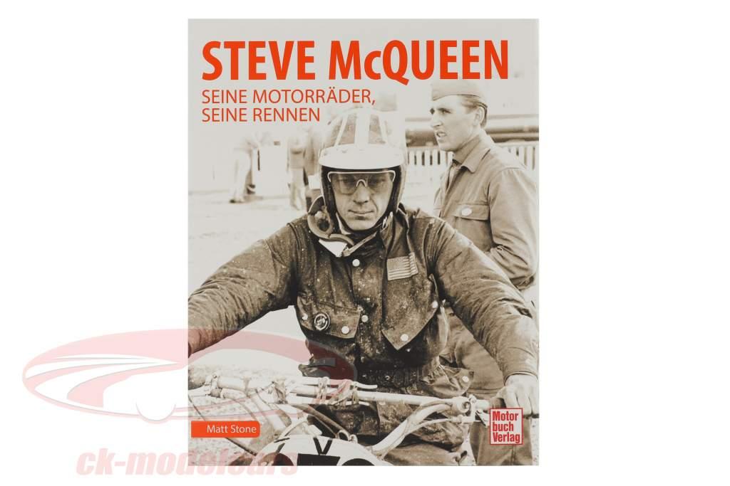 Buch: Steve McQueen - Seine Motorräder, seine Rennen